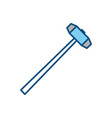 sledgehammer construction tool vector image vector image