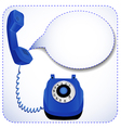 telephone with raised tube vector image