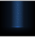 Glowing falling magic dust vector image