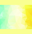 abstract summer background with triangles vector image