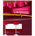 bar counter vector image vector image