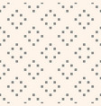minimalist seamless pattern with small squares vector image vector image