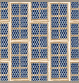 seamless pattern ancient maltese trellis vector image vector image