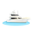 stock cruise ship isolated vector image