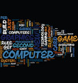 you don t have to be rich to be a pc gamer text vector image vector image