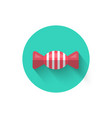 candy icon isolated the vector image