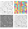 100 engineering icons set variant vector image vector image