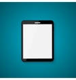 Abstract Design Realistic Tablet with Blank Screen vector image vector image