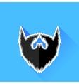 Black Beard Icon vector image vector image