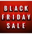Black friday sale EPS 10 vector image vector image