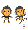 monkey1 vector image vector image