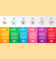 payment checklist and bitcoin system icons set vector image vector image
