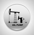 pump oil vector image