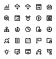 SEO Web Optimization Icons 2 vector image vector image