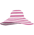 Summer beach hat vector image vector image