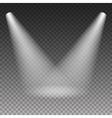 Scene illumination light effect vector image
