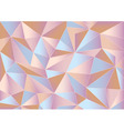 Abstract pink triangles 3d background vector image vector image