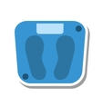 balance measure weight isolated icon vector image
