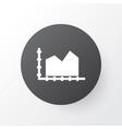 diagram icon symbol premium quality isolated area vector image