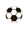 Football ball icon isometric 3d style vector image vector image