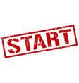 start stamp vector image vector image