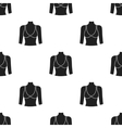 Breast icon in black style isolated on white vector image
