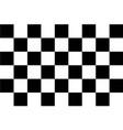 flag auto racing flat icon vector image