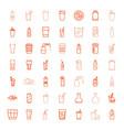 49 soda icons vector image vector image