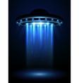 Aliens ufo interstellar spaceship vector image vector image