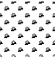 Clouds and rainbow pattern simple style vector image vector image
