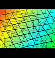 colorful random chaotic lines scattered lines vector image