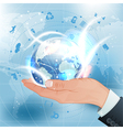 Concept - Global Business vector image vector image