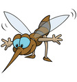 Flying Mosquito vector image