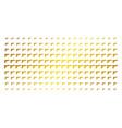 pistol gun gold halftone pattern vector image