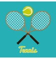 Tennis Sport design vector image vector image