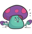 Happy Mushroom vector image