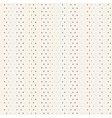Colorful polka dot seamless background vector image