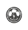 emblem for soccer championship vector image vector image