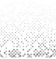 grey geometrical abstract dot pattern background vector image vector image