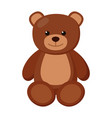 kid toy bear vector image