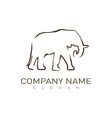 logo elephant vector image vector image