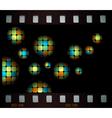 mosaic balls vector image vector image