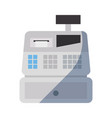 online shopping cash register vector image vector image