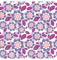 seamless floral ornament vector image