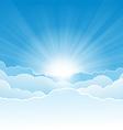 Wide Sky vector image vector image