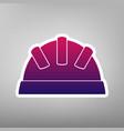 baby sign purple gradient vector image vector image