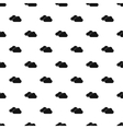 Clouds pattern simple style vector image vector image