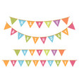 happy bithday bunting vector image vector image