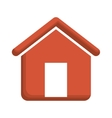 Isolated house building design vector image vector image