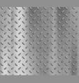 metal textured plate steel industrial pattern vector image vector image